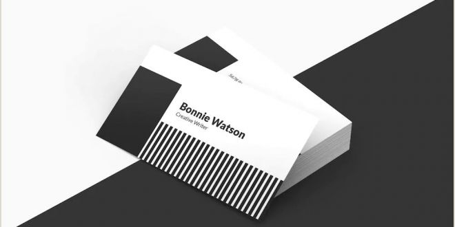 Business Card Examples 2020 Creative Business Card Templates