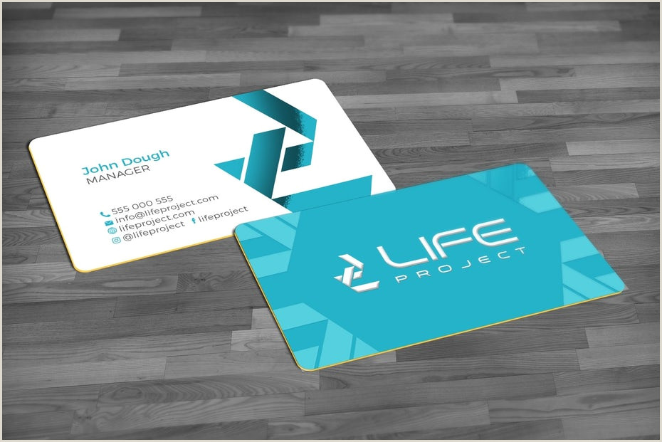 Business Card Examples 2020 The 11 Biggest Business Card Trends 2020