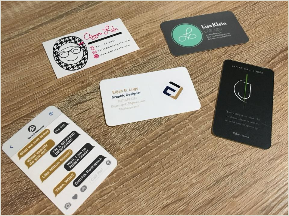 Business Card Examples For Students 25 Awesome Business Cards Of Students Recent Grads