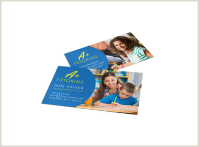 Business Card Examples For Students School Business Card Templates