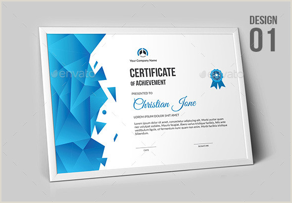 Business Card Graphic Design Certificate