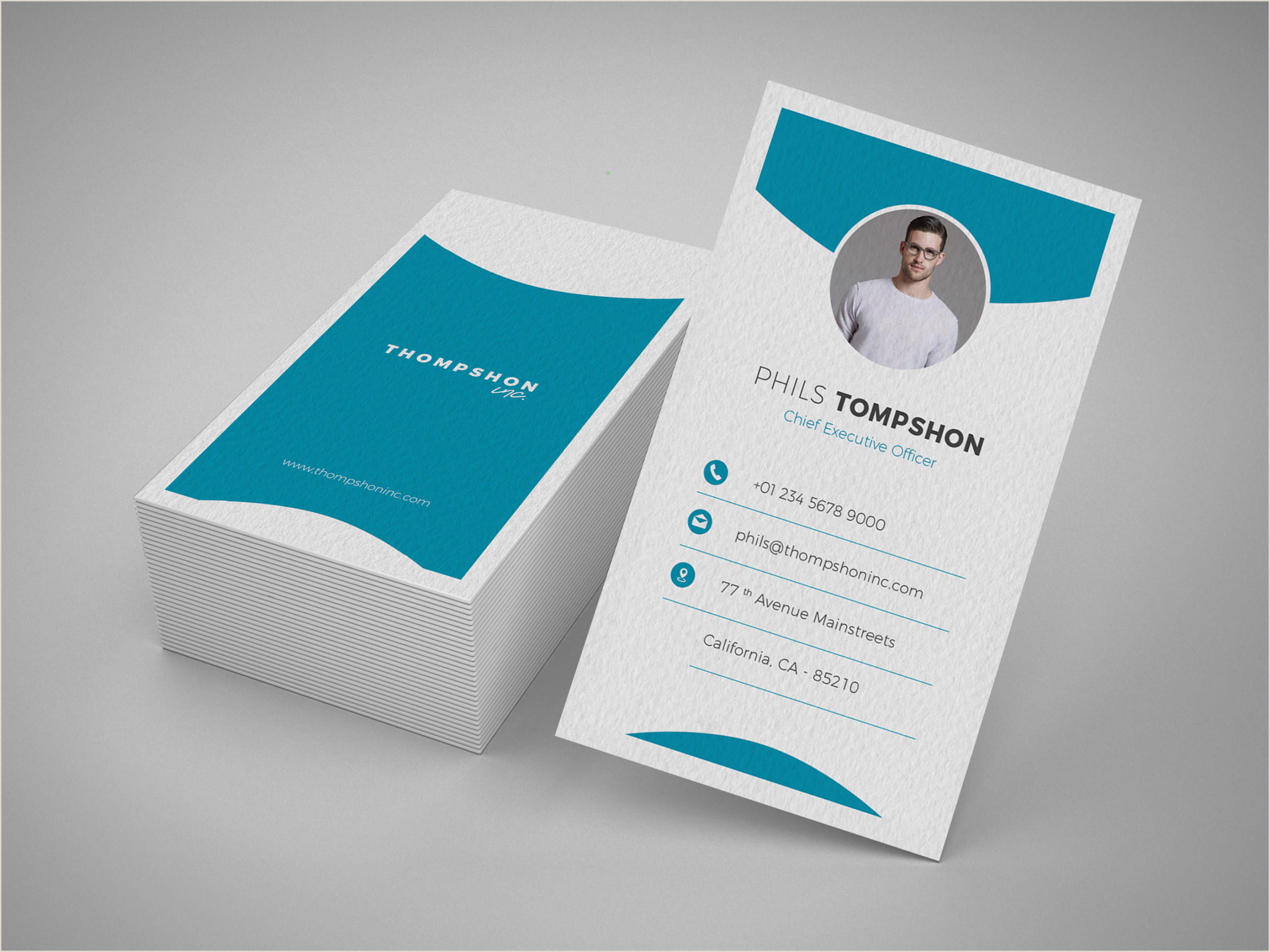 Business Card Graphic Design Professional Business Card