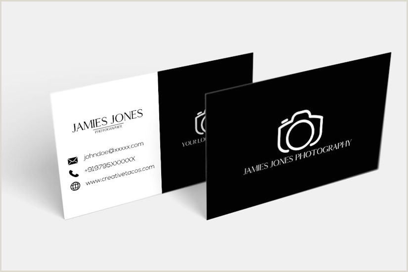 Business Card Ideas Photography 50 Best Graphy Business Cards For Inspiration