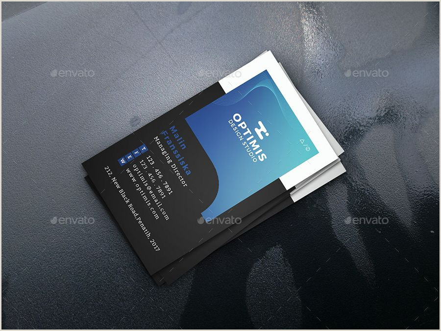 Business Card Information To Include Curved Creative Business Card