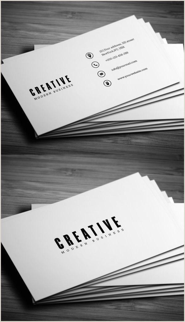Business Card Layout Ideas Minimal Business Card