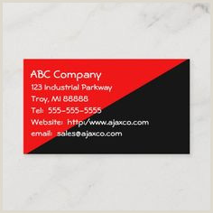 Business Card Meaning 300 Best Black And Red Business Cards Images In 2020