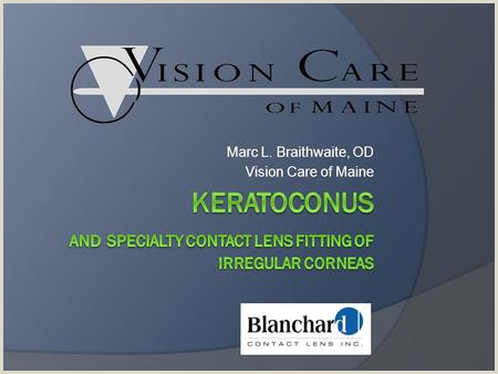 Business Card Meaning Update On Keratoconus Diagnosis And Treatment Ppt Video