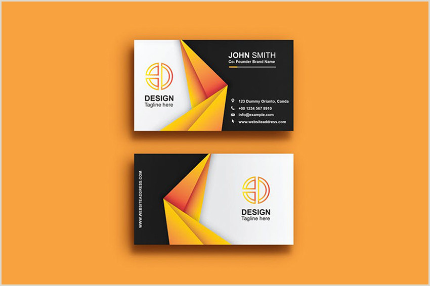 Business Card Modern Design 25 Minimal Business Cards With Simple Modern Design Ideas