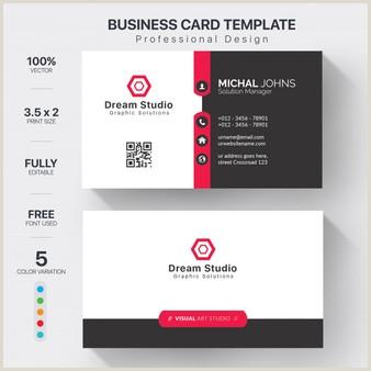 Business Card Modern Design 39 717 Modern Business Card