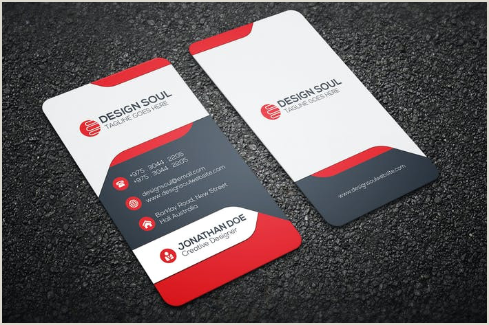 Business Card Modern Design Modern Business Card By Designsoul14 On Envato Elements
