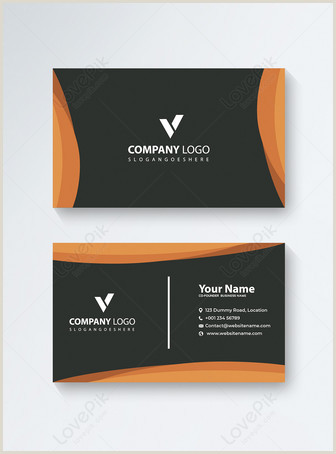 Business Card Modern Design Modern Business Card Template Image Picture Free