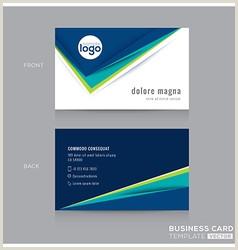 Business Card Modern Design Modern Business Card Vector Over 480 000
