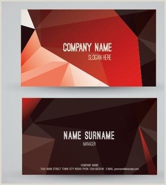 Business Card Modern Design Vector Modern Business Card Free Vector 33 807