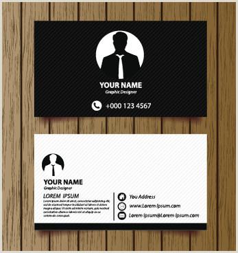 Business Card Modern Modern Business Card Free Vector 33 817 Free