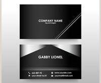 Business Card Modern Modern Business Card Free Vector Art 19 347 Free Downloads