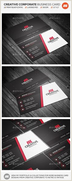 Business Card Portfolio 300 Best Business Card Design Images