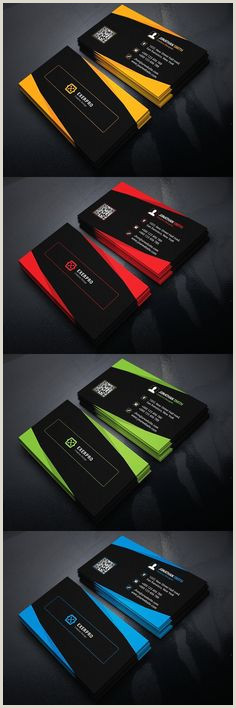 Business Card Portfolio 500 Business Card Ideas In 2020