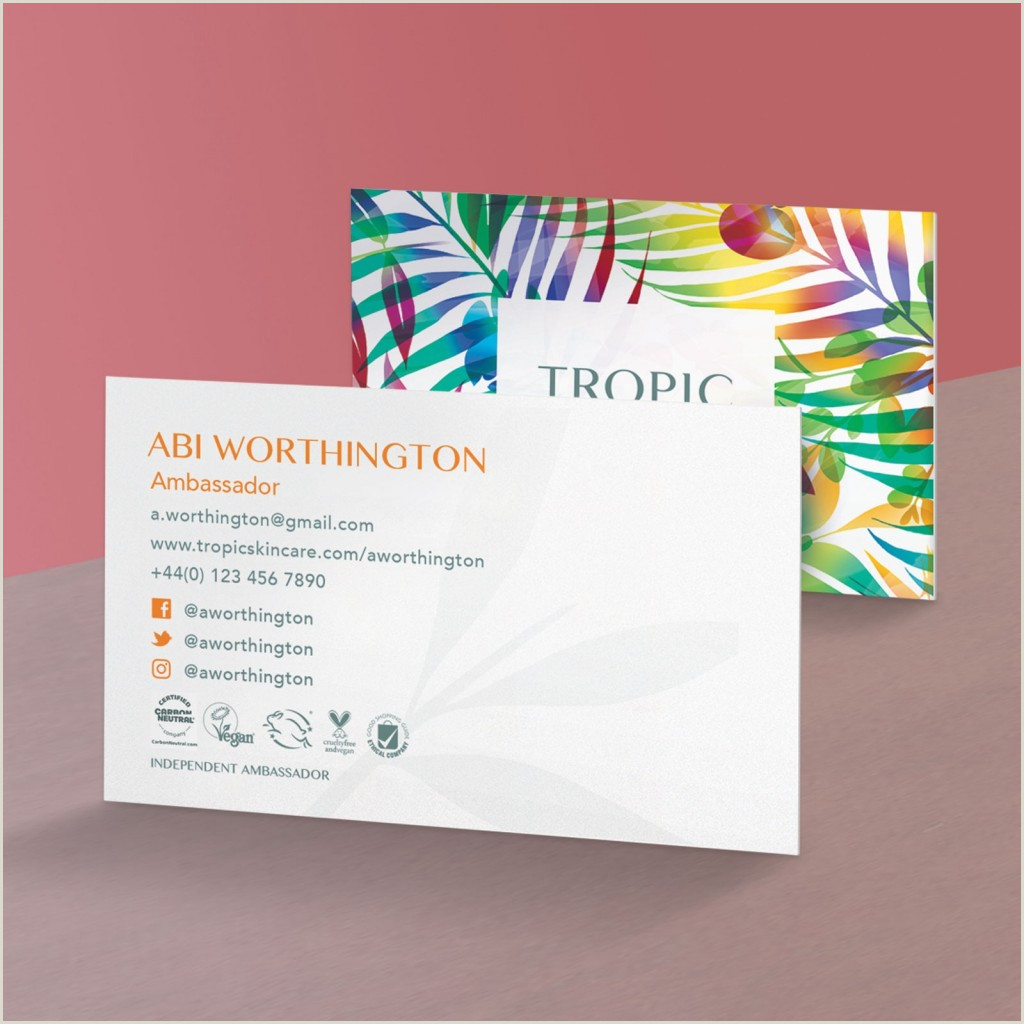 Business Card Portfolio Upload A Design Laminated Business Cards