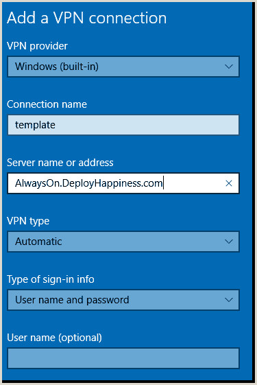 Business Card Setup Install And Deploy The Always Vpn Client – 4sysops