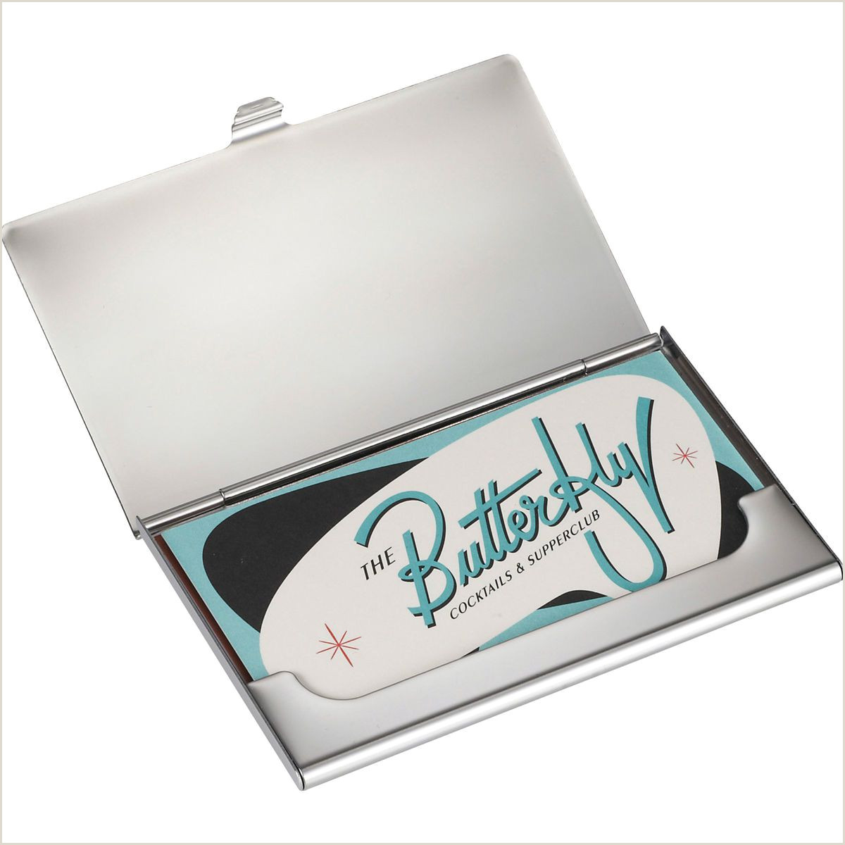 Business Card Setup Promotional Traverse Business Card Holder Personalized With Your Custom Logo