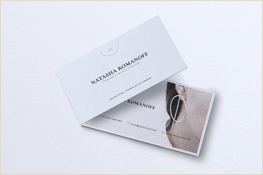 Business Card Simple 25 Minimal Business Cards With Simple Modern Design Ideas