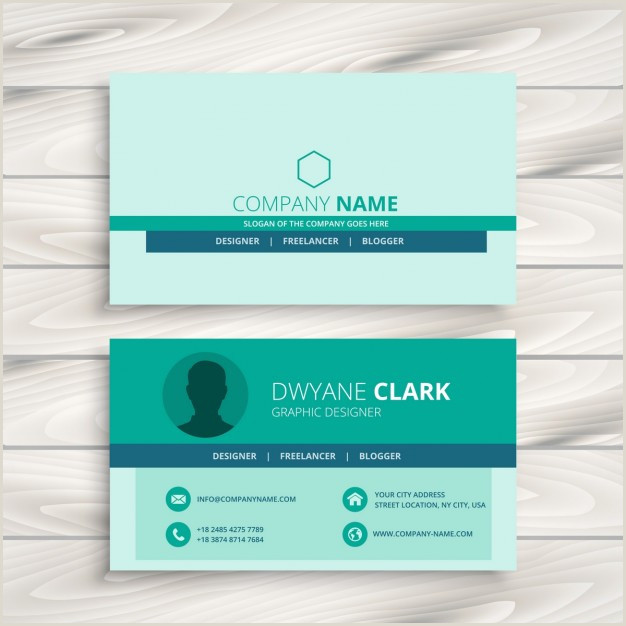 Business Card Simple Download Vector Simple Business Card Layout Vectorpicker