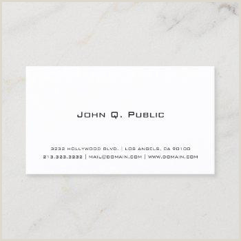 Business Card Simple Simple Business Cards