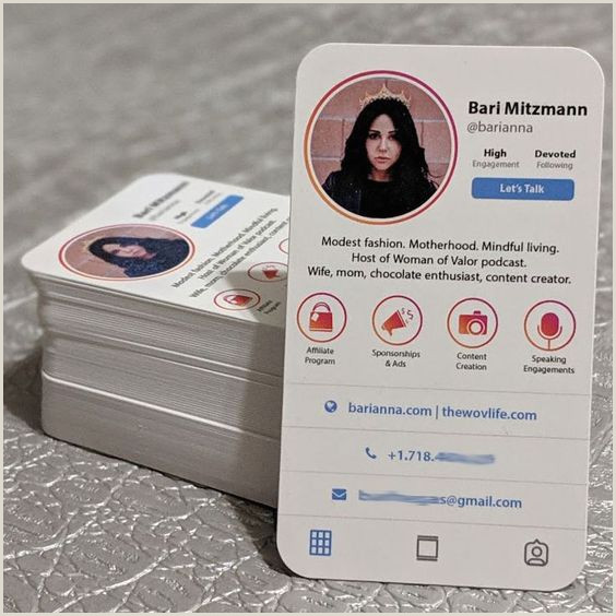 Business Card Social Media 9 Must Have Social Media Business Cards To Make Your Own