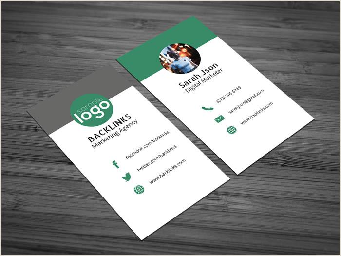 Business Card Social Media Free Social Media Business Card Template