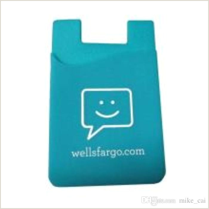 Business Card Stickers Cheap 2020 High Quality Customized Logo Cell Phone 3m Sticker Card Holder Business Credit Card Holder Silicone Card Holder With 3m For IPhone Samsung From