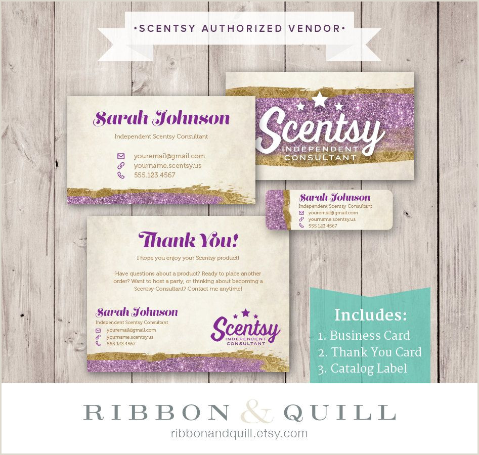 Business Card Stickers Cheap Authorized Scentsy Vendor • Scentsy Business Bundle • Glam