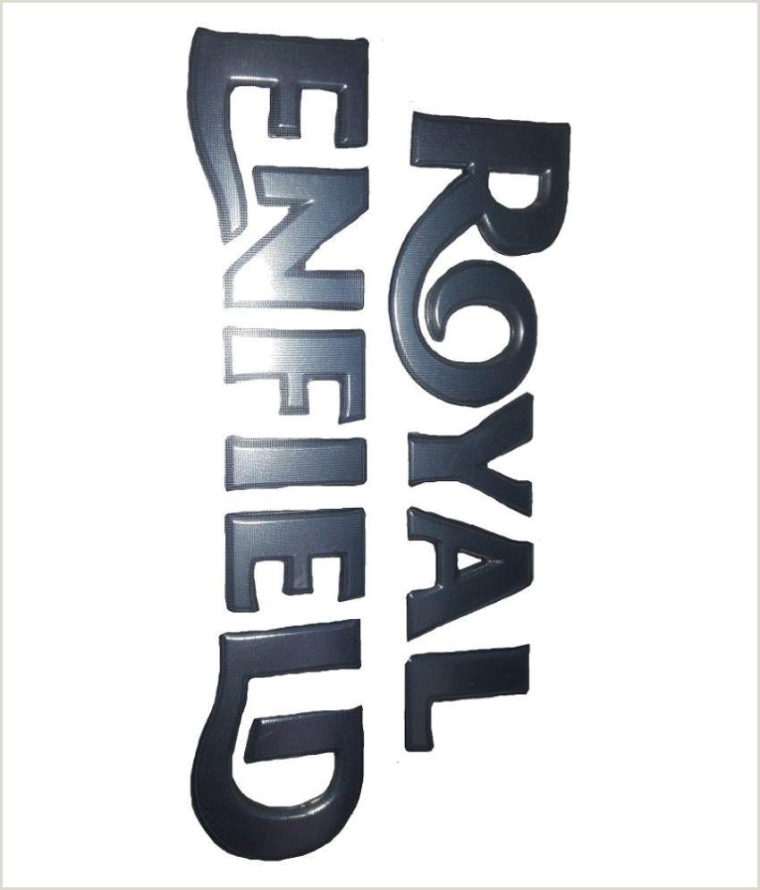 Business Card Stickers Cheap New Original Royal Enfield Logo Tank Sticker Silver