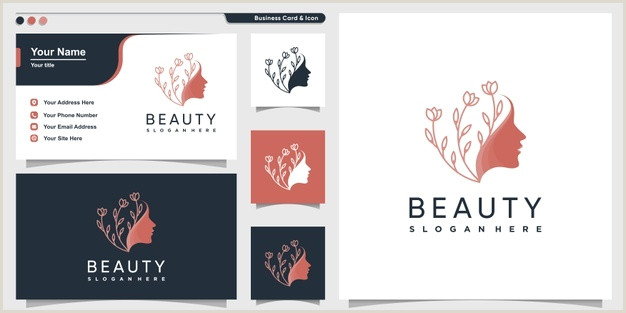 Business Card Template Front And Back Free Vector