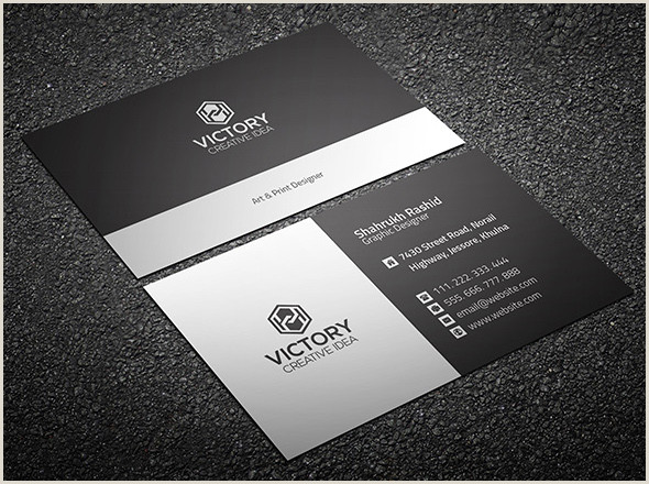 Business Card Template With Logo 20 Professional Business Card Design Templates For Free