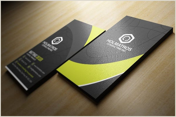 Business Card Template With Logo 9 Business Card Logos Free Sample Example Format