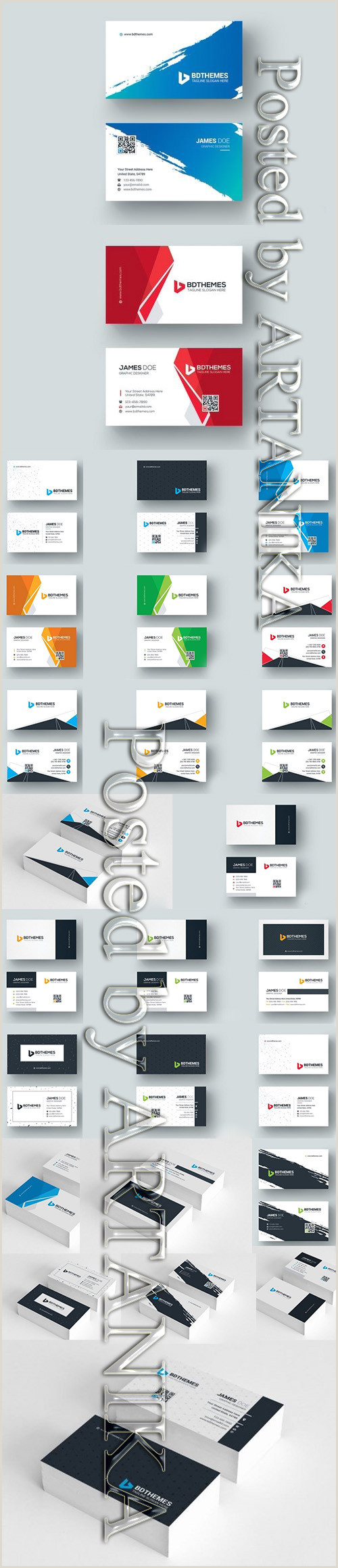 Business Card Template With Social Media Icons Veterinarian Business Card Template Avaxgfx All