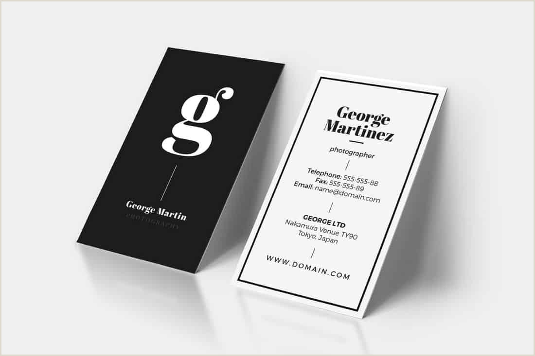 Business Card Template Word 2020 20 Best Modern Business Card Templates 2020 Word Psd
