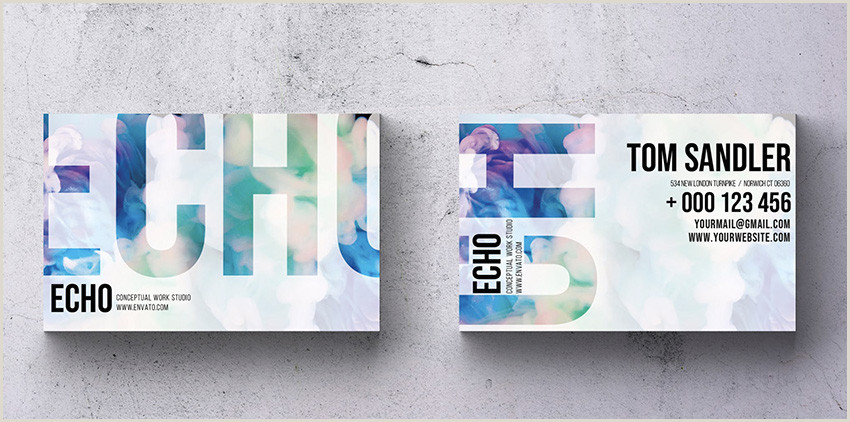Business Card Trends 2020 Business Card Design Guide To New Trends & Modern Styles