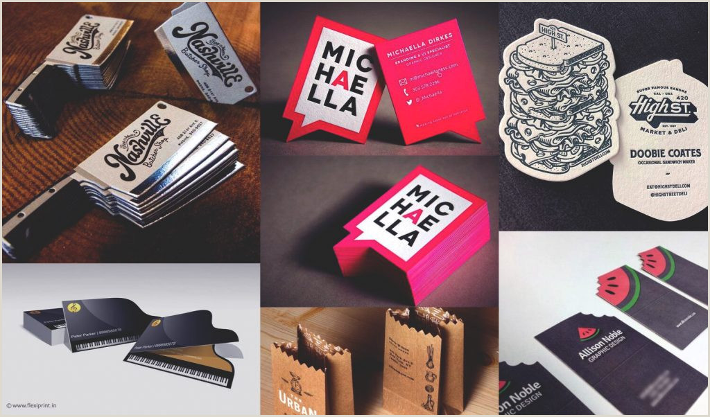 Business Card Unique 21 Unique Business Card Shapes And Designs To Inspire You