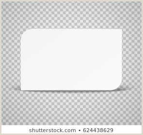 Business Card White Background Business Card Transparent Background Stock S