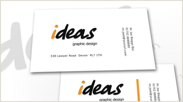 Business Card White Background Ideas Business Card With White Background