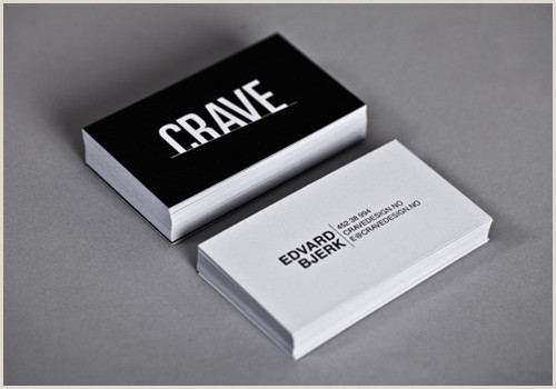 Business Card White Black And White Business Cards Design 50 Inspiring Examples