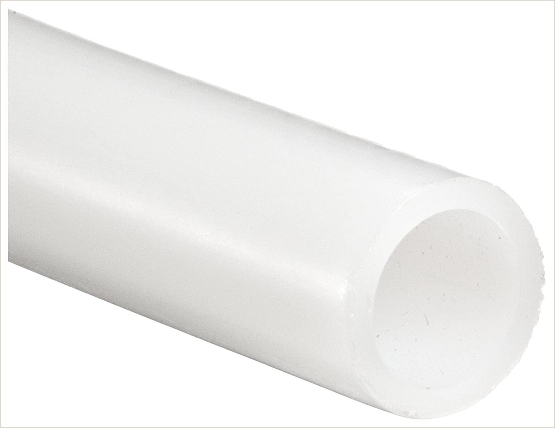 "Business Card White White High Density Polyethylene Hdpe Tubing 0 170"" Id 0 250"" Od 0 04"" Wall 100 Length"