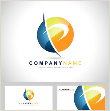 Business Card With 2 Logos Business Card Logos Free Vector 92 156 Free Vector