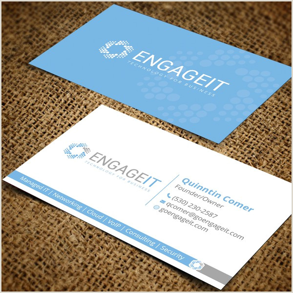 Business Card With 2 Logos Business Card Two Logos Business Card Contest