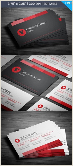 Business Card With 2 Logos Creative Free Business Card Templates And Tutor Image