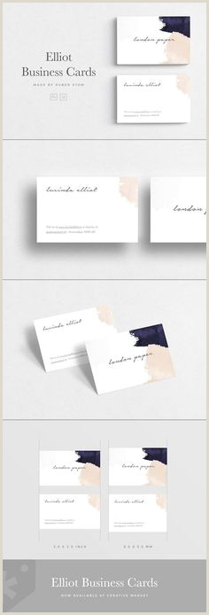 Business Card With Geometric Logo 300 Business Card Design Ideas In 2020