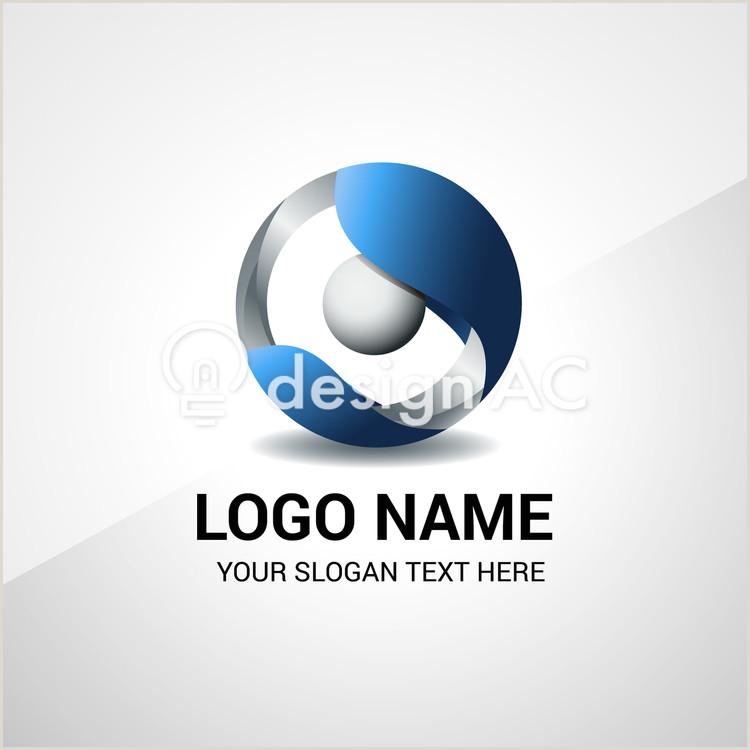 Business Card With Geometric Logo Geometric Logo Design Free Template