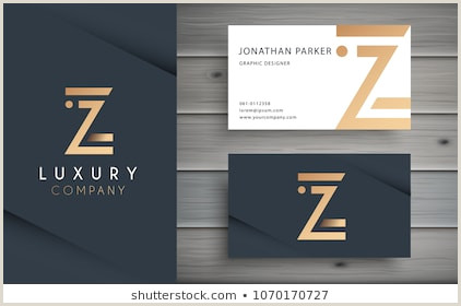 Business Card With Geometric Logo Z Store Logo Stock S & Vectors