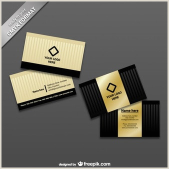 Business Card With Logo Template Free Vector